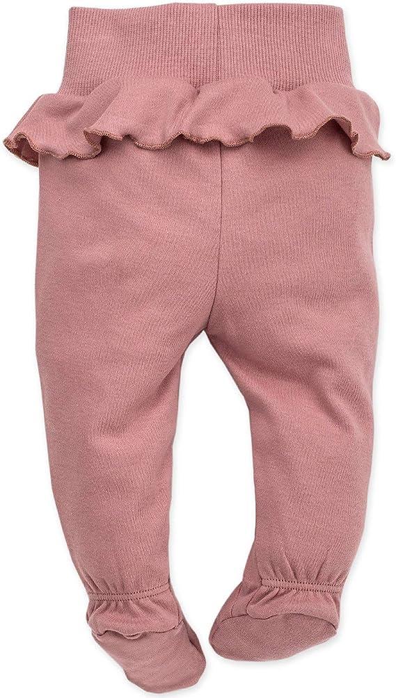 Pantalones de Beb/é Ni/ñas//Pantal/ón de Mameluco reci/én Nacido Petit Lou Pinokio Cintura el/ástica Azul Rosa- 100/% Algod/ón durmientes con pies
