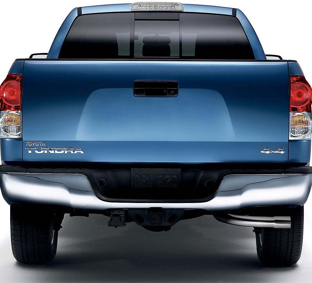 High Mount Black Housing Dual Row LED Rear 3rd Tail Brake Light Cargo Lamp for Toyota Tundra 07-18