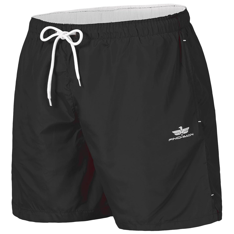 TALLA S. Finchman Pantalones Cortos de Natación Traje de Baño Shorts