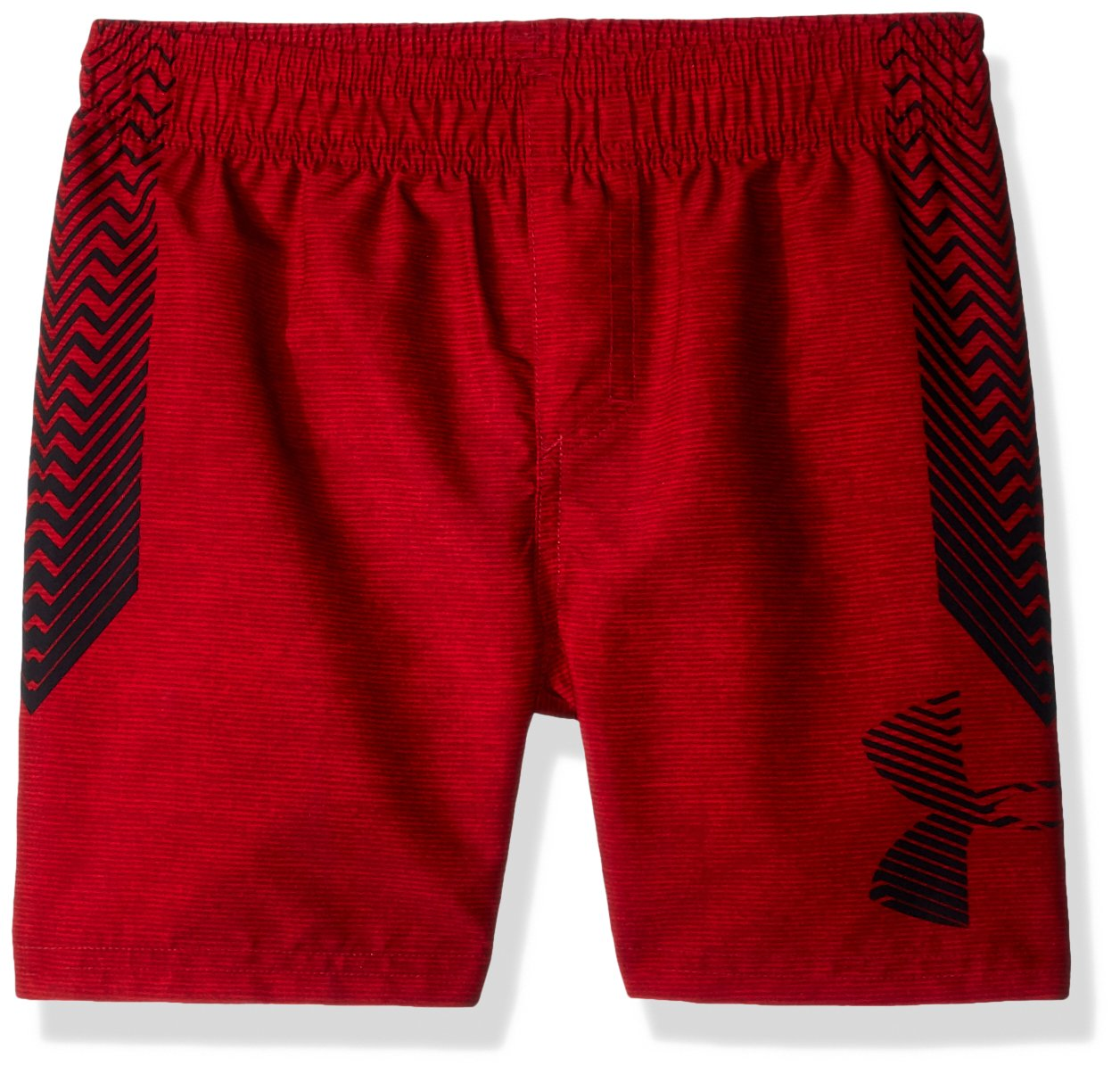 Under Armour Big Boys' Volley Swim Trunk, Americana Red, Small