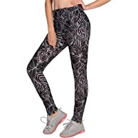KEEPRONE Women's Swim Pants High Waist Tummy Control Long Swimming Tights UPF 50+ Capris Built-in Liner Outdoor Sport Leggings