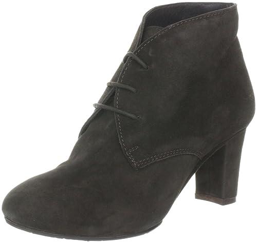 Belmondo 828403/Q 828403/Q - Botines clásicos de ante para mujer, color marrón, talla 40: Amazon.es: Zapatos y complementos