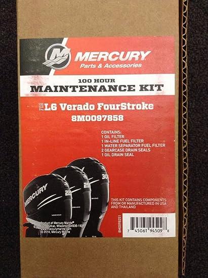 MERCURY VERADO L6 FOUR STROKE 100HOUR MAINTENANCE KIT