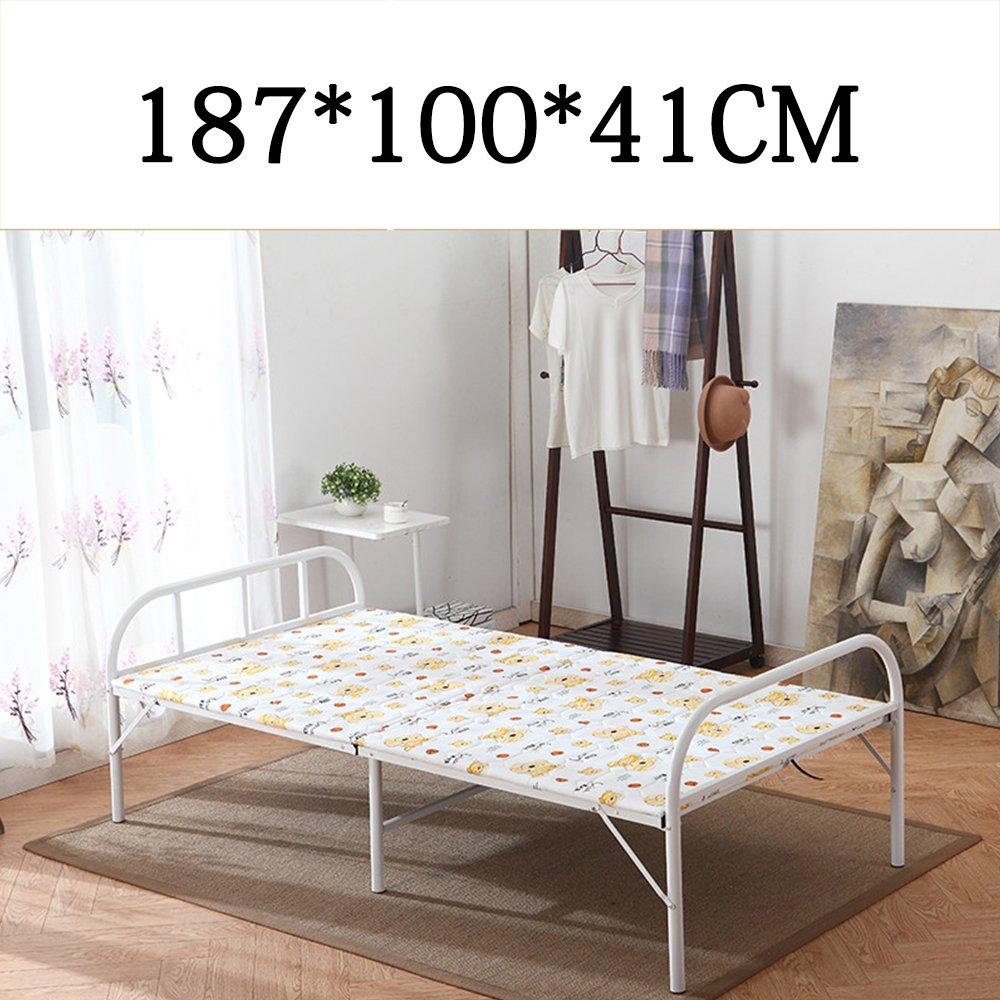 Home & Style Karikatur Campingbett Feldbett max. statische Belastung 250 kg 187 x 100 x 41 cm