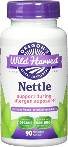 Oregon's Wild Harvest Nettle Freeze Dried Organic Supplement