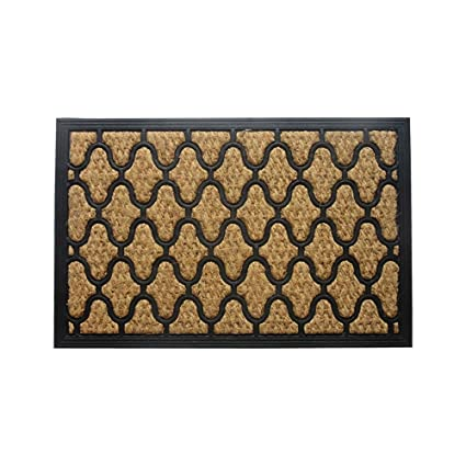 Amber Home Goods Lattice Floor Mat Front Door Mat Large Outdoor Indoor  Entrance Doormat Low Profile