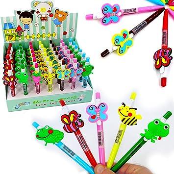 German Trendseller® - 6X Bolígrafos de Colores para niños ...