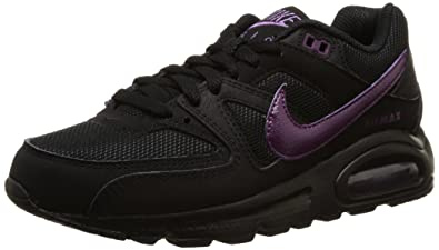 Nike Air Max Command, Sneakers Basses Femme, Noir (Black/Mulberry), 36.5
