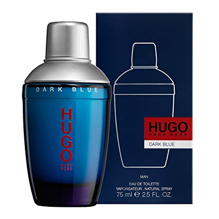 Hugo Boss DARK BLUE Eau de Toilette, 2.5 Fl Oz