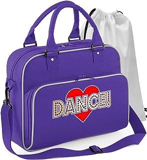 MusicaliTee Flamenco Gypsy Dancing - Love Dance - Sac De Danse Sac À Chaussures À Cordon Dance & Shoe Bag 4 Couleurs