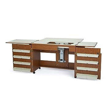 Mueble Para Máquina De Coser Bertha Roble Amazones Hogar