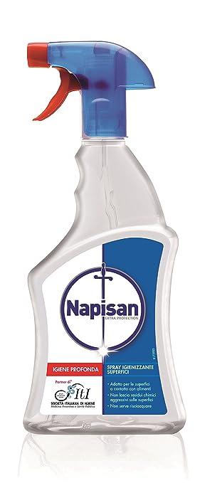 59 opinioni per Napisan Spray Igienizzante Superfici Classico