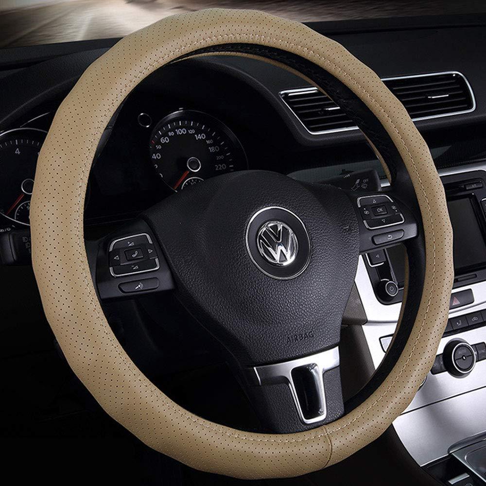 Genuine Leather Car Steering Wheel cover 3D antiscivolo massaggio base Series universale 35/36/38/40cm 13–3/10,2cm/14–3/20,3cm/14–1/5,1cm/38,1cm/15–7/20,3