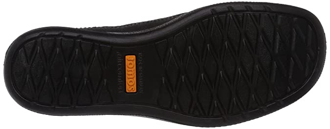 Jomos 420412-37-000, Chaussures derby homme - Noir - Schwarz (37-000 Schwarz), 48 EU