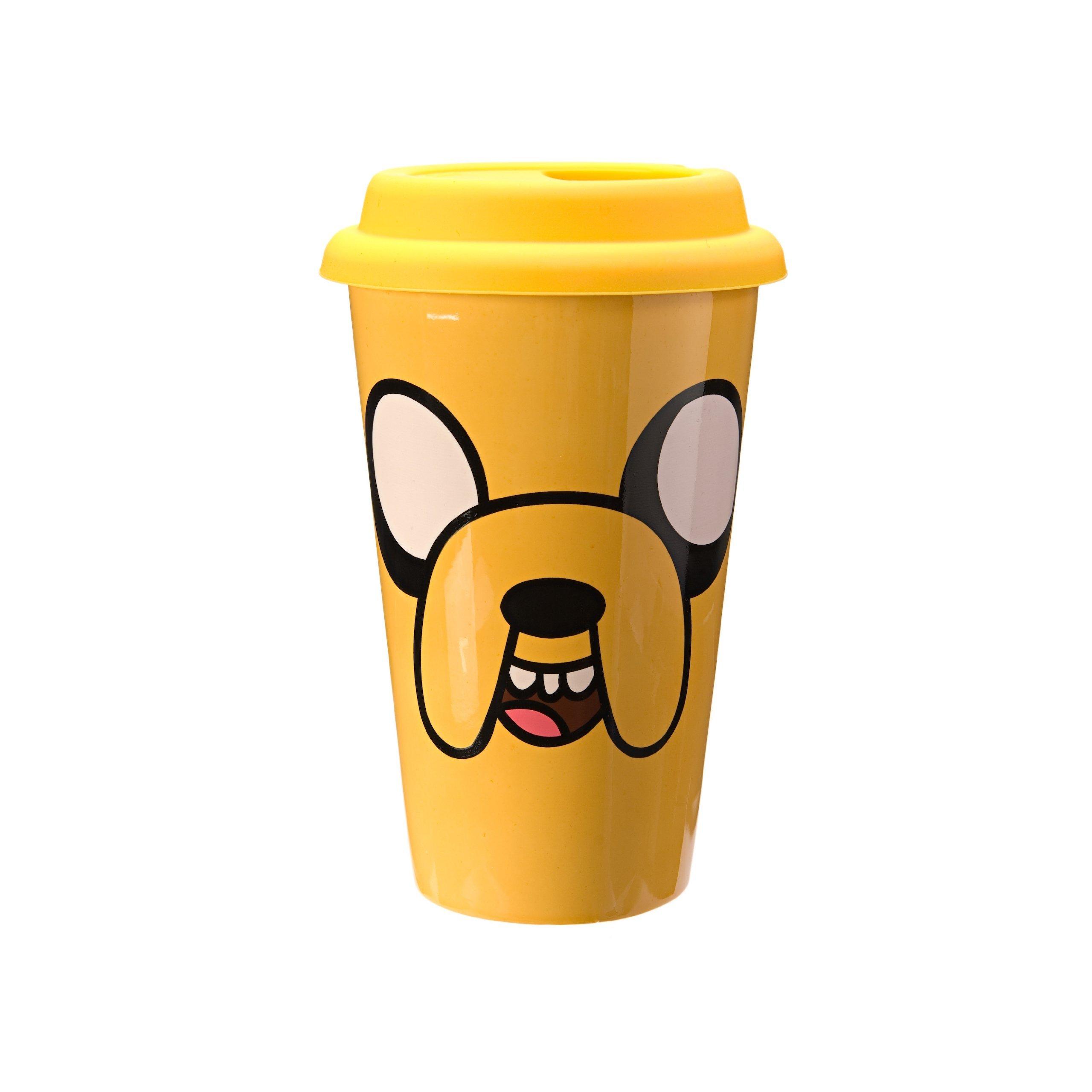 Adventure Time Jake Ceramic Travel Mug
