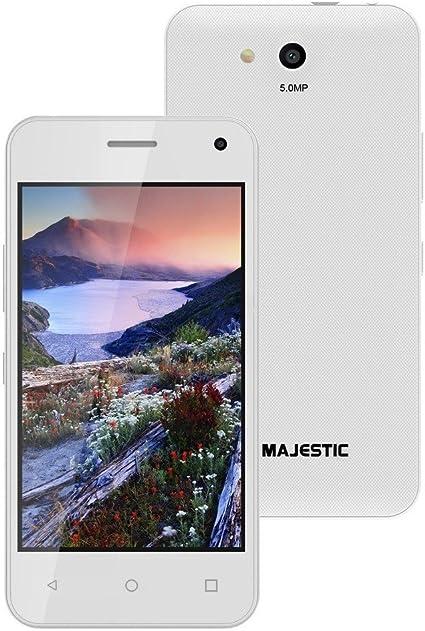 Majestic Pluto 26 m Blanco Smartphone 4 Quad Core Android 6.0 ...