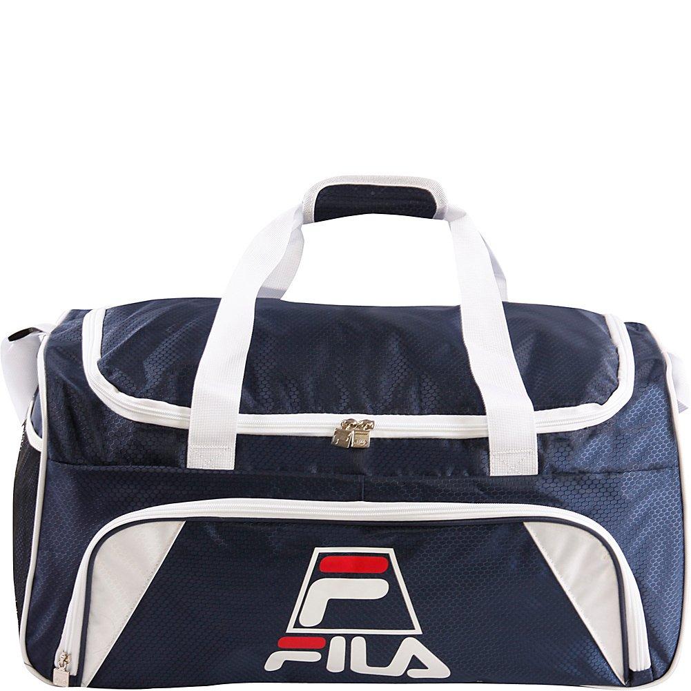 Fila Crew Medium Sports Duffel Bag, Navy, One Size