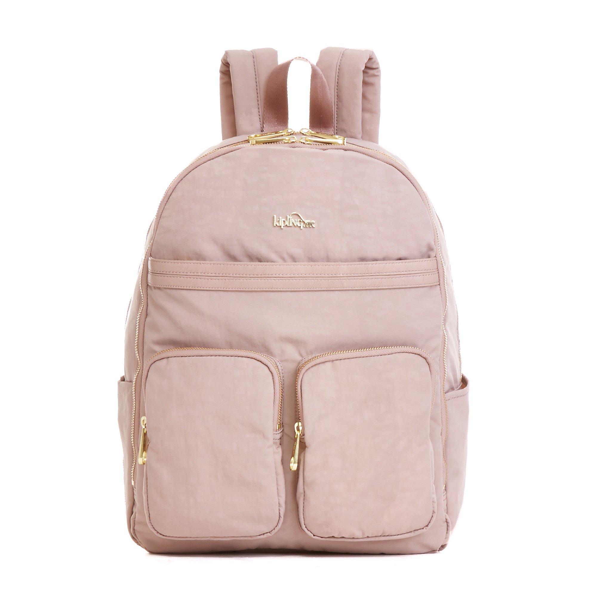Kipling Women's Tina Large Laptop Backpack One Size Antique Rose Combo