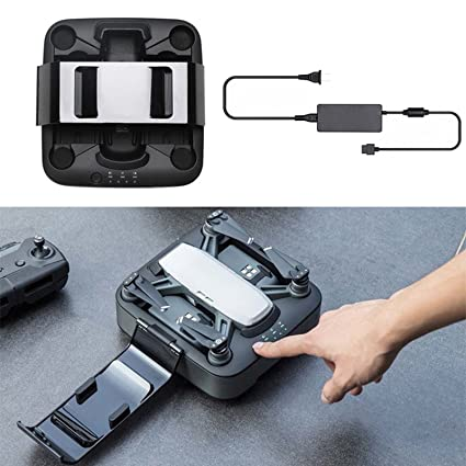 MuLong DJI Spark Drone Portable Power Pack With Charging Station And 2Pcs Intelligent