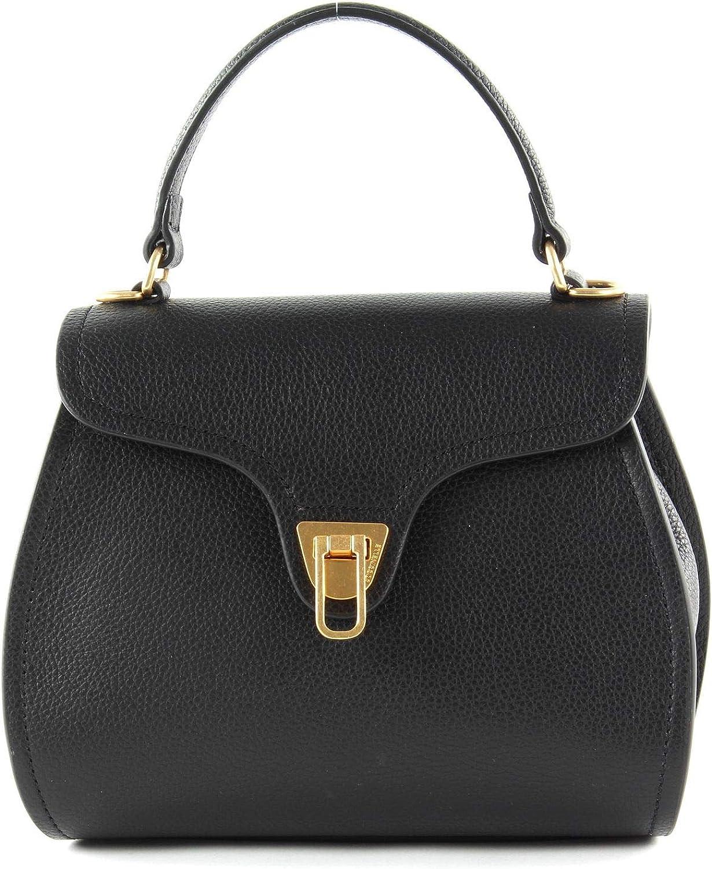 COCCINELLE Top Handle Marvin Minibag Noir