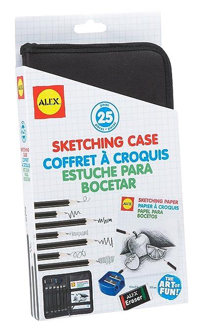 Amazon.com: ALEX Toys Artist Studio Sketching Case: Toys & Games