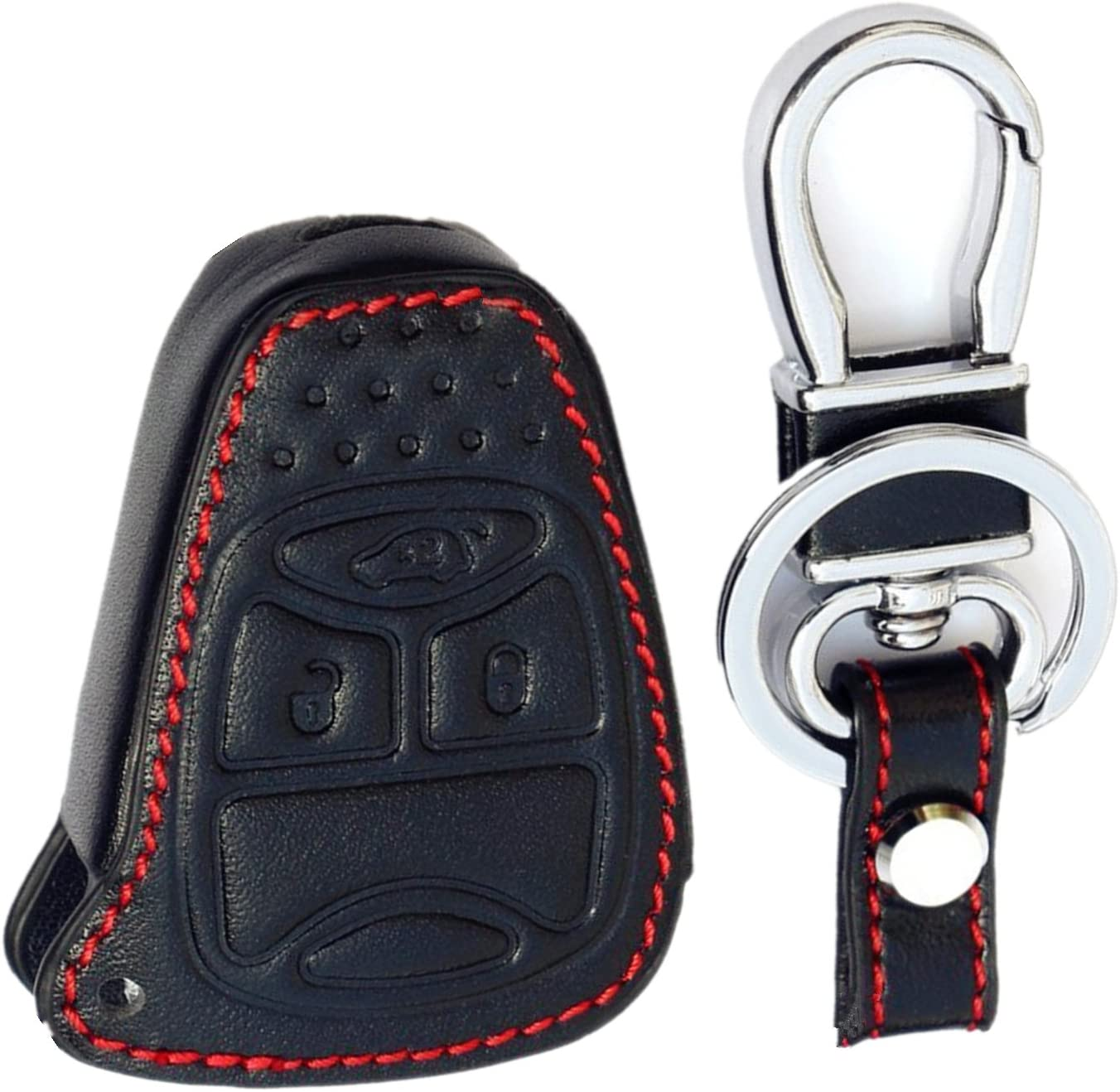Key Fob Cover For 2006 2007 Jeep Commander Remote Case Rubber Skin Jacket