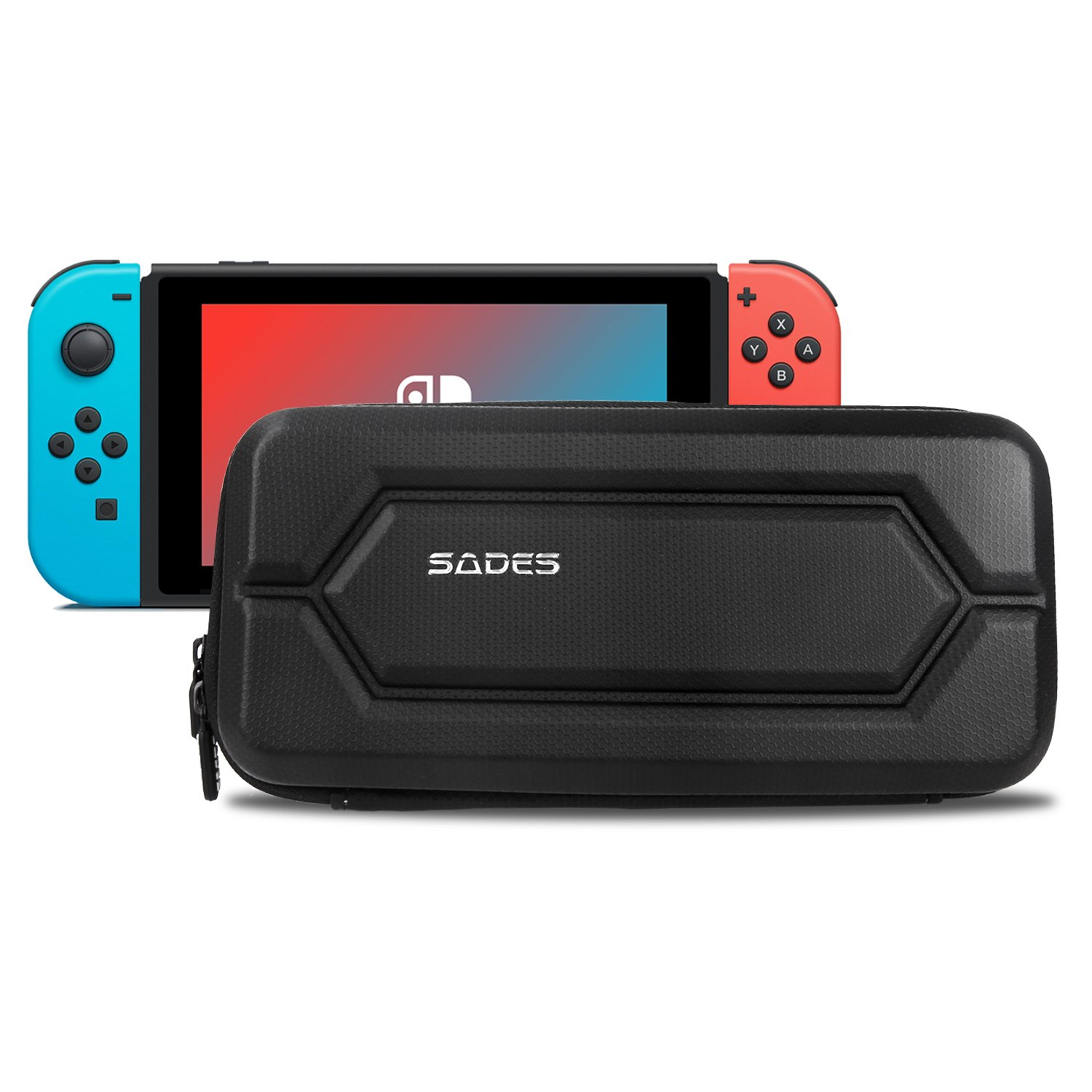 SADES Nintendo Switch Carrying Case Protective Carrying bag for Nintendo Switch Games Console and Accessories