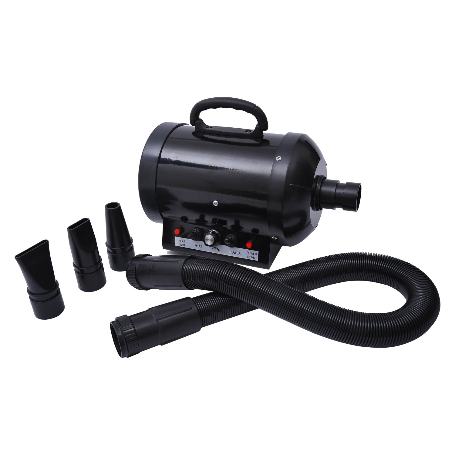 MDOG2 Pet Grooming Hair Dryer for Dogs and Cats, Black