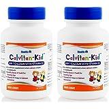 Healthvit Calvitan-Kid Kid's Calcium with Vitamin d3 60 Tablets pack of 2