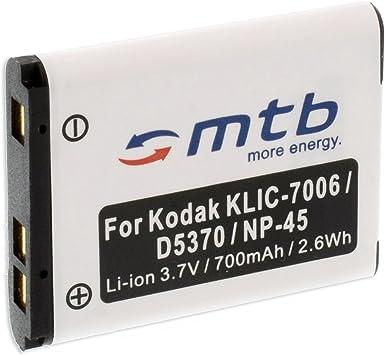 Batterie Appareil photo Nikon Coolpix S220 700mah Batterie
