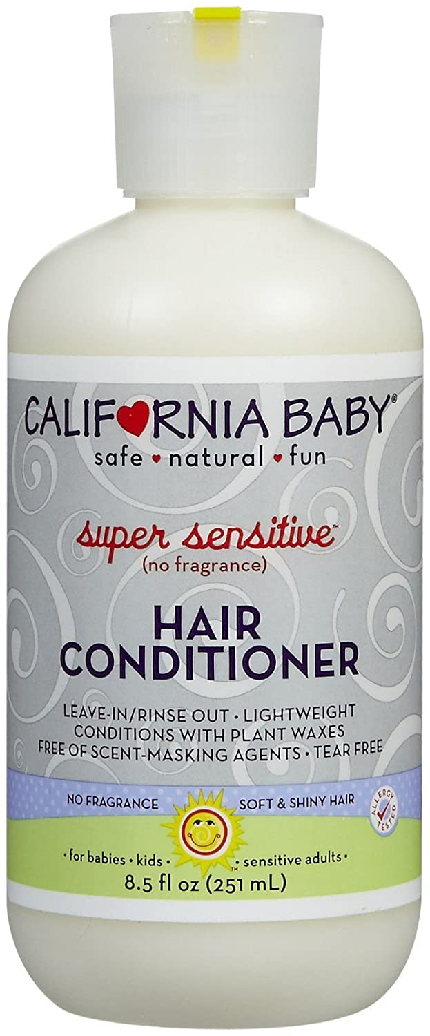 California Baby hair Conditioner - Super Sensitive, 8.5 Ounce by California Baby B000VOTE6G