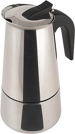 Cafetera Acero INOX. inducción 9 Tazas Acero: Amazon.es: Hogar
