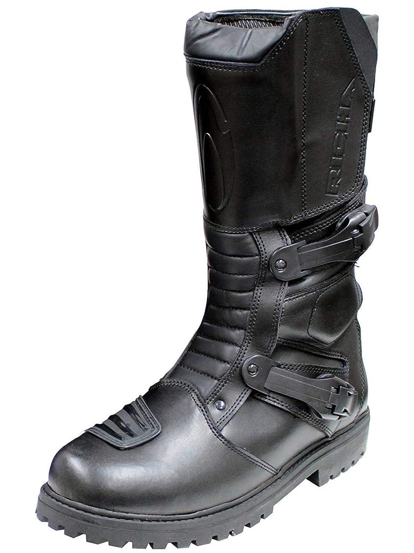 Richa Botas Moto Adventure Negro (EU 41, Negro) 5060391695358