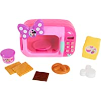 Minnie Happy Helpers - Juego de microondas de Juguete Maravilloso, Color Rosa