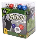GOLO, Golf, Dice Game – Award Winning, Super Fun, Golf Dice Game – A Dice Game That Is Perfect For - Travel, Home, Parties, Gifts, Stocking Stuffers, Get-Togethers, and the 19 hole