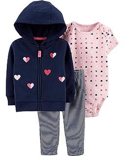 878a4f6b3 Amazon.com: Carter's Baby Girls' Cardigan Sets 121g778: Clothing