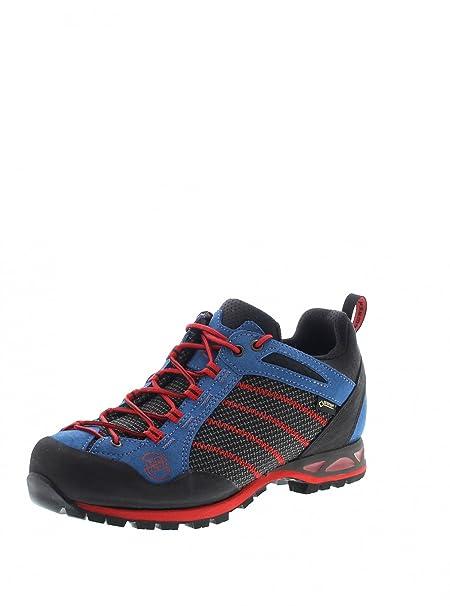 Hanwag Makra Low GTX Zapatillas de escalada para hombre, con tejido Gore-Tex, hombre, Makra Low GTX, blau (296), 46 EU: Amazon.es: Ropa y accesorios