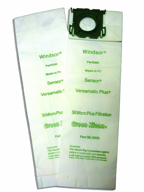 Green Klean GK-5300 Triple Layer Replacement Vacuum Bags (Pack of 100)