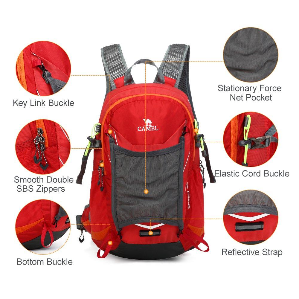 Camel Hiking Backpack Travel Backpack