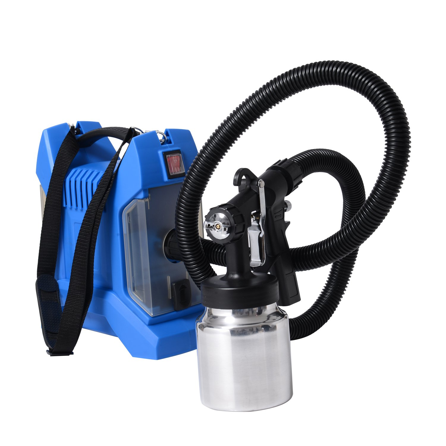 H omCom 650W HVLP Electric Paint Sprayer Spray Kit