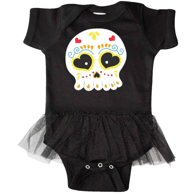 Amazon Inktastic Sugar Skull Yellow Infant Tutu Bodysuit