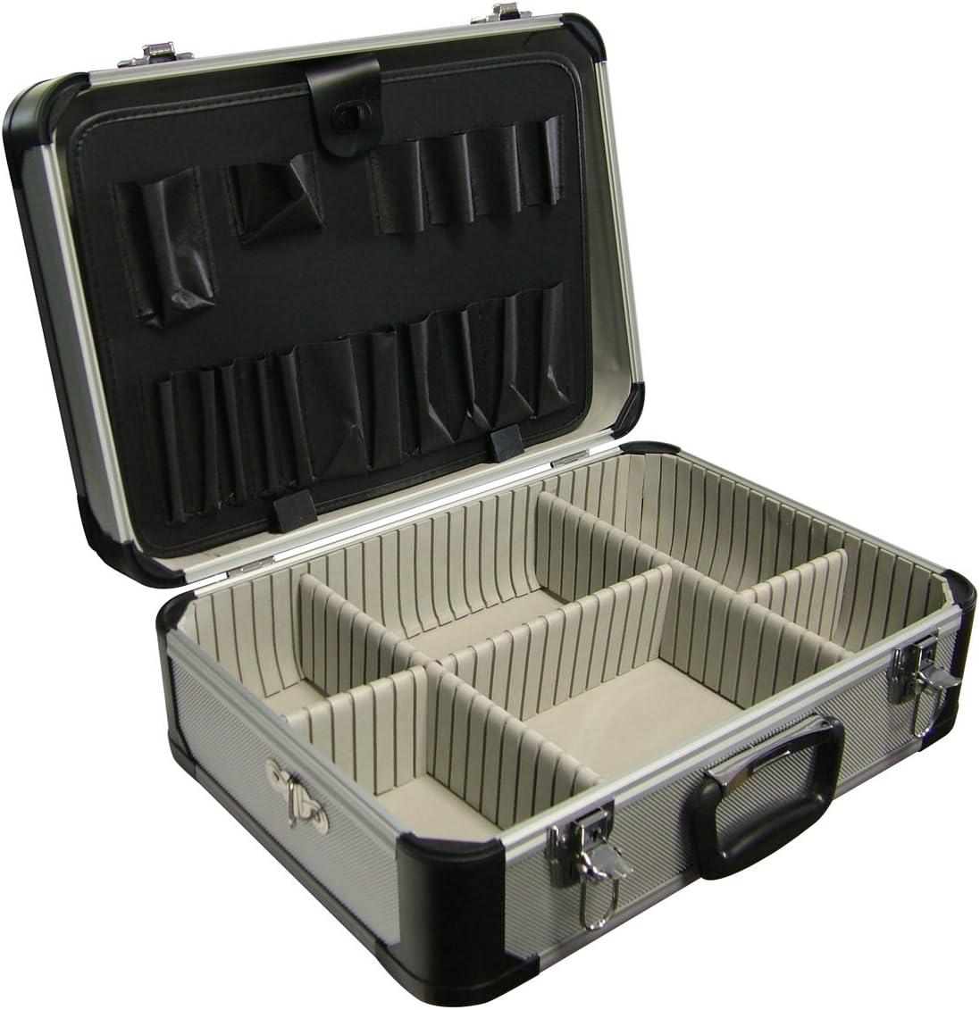 So.di.fer 542618 Utensilienkoffer aus Aluminium 460 x 330 x 170 mm