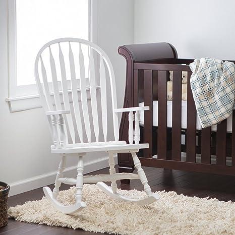 Wondrous Windsor Baby Nursery Rocking Chair White Unemploymentrelief Wooden Chair Designs For Living Room Unemploymentrelieforg