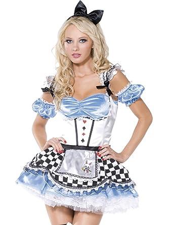 Sexy alice in wonderland halloween costumes