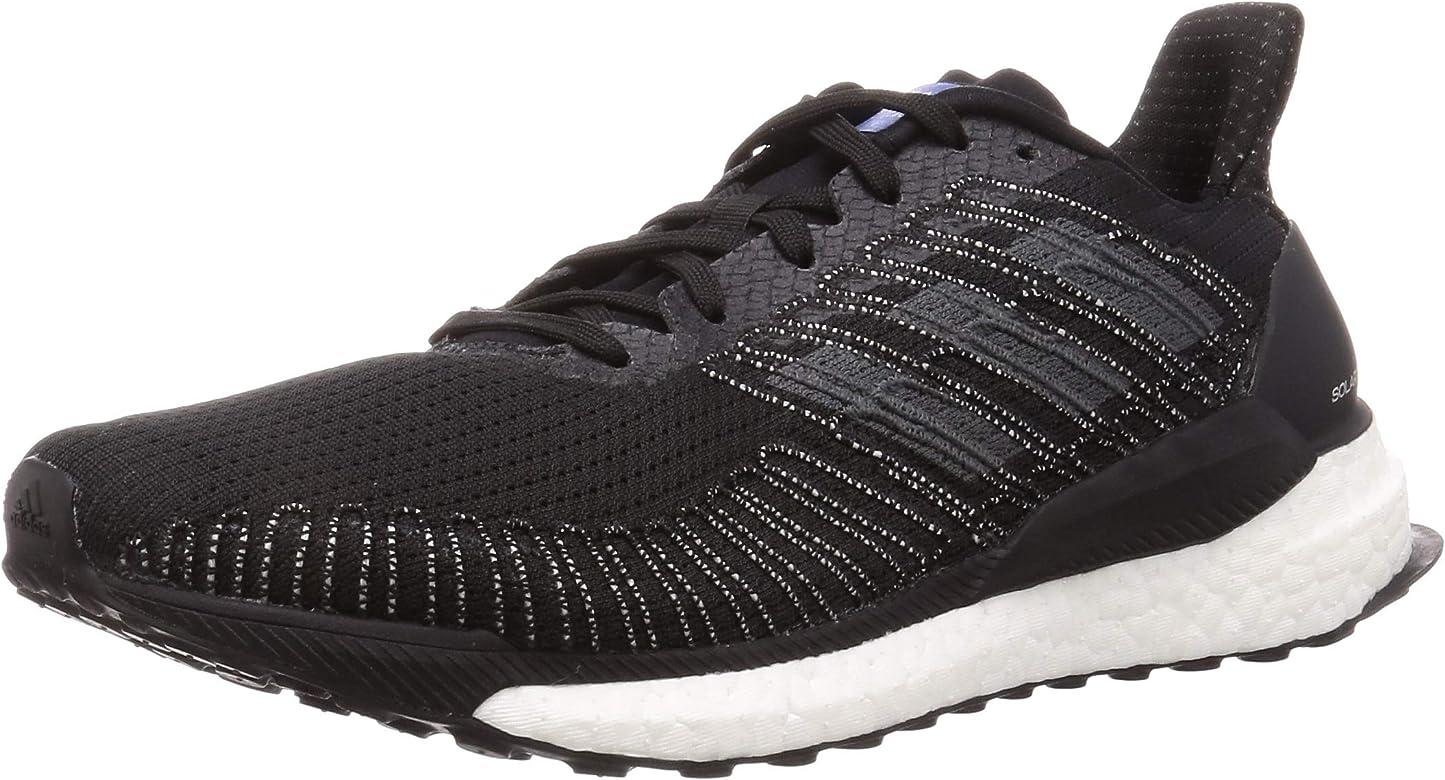Adidas Solar Boost 19 Zapatilla para Correr en Carretera o Camino de Tierra Ligero con Soporte Neutral para Hombre Negro 44 2/3 EU: Amazon.es: Zapatos y complementos
