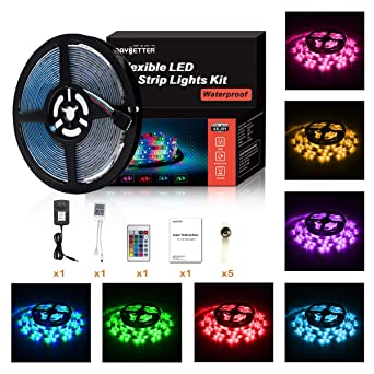 Review Led Strip Lights 5M/16.4