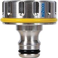 """Hozelock 2042P0000 1"""", 33.3mm Pro Metal Outdoor Tap Connector"""