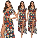 KESEELY Maxi Dresses for Women Summer - Ladies V