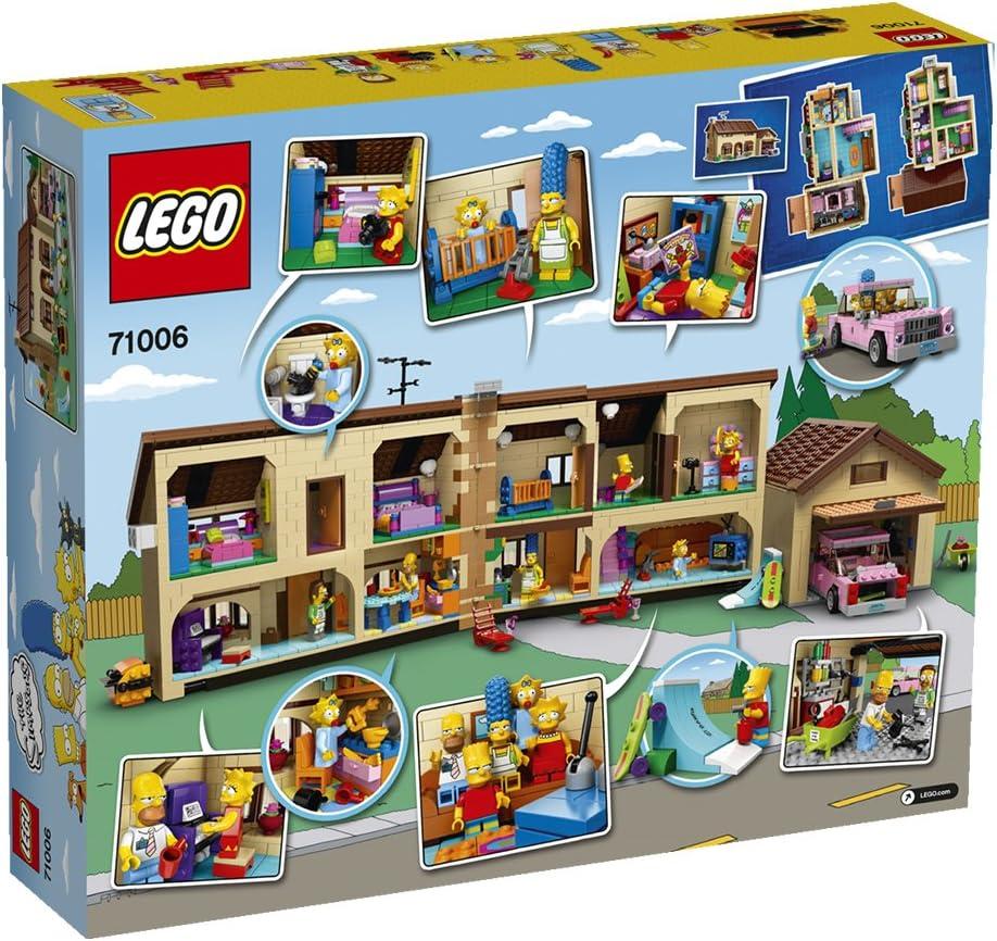 LEGO 71006 - La Casa De Los Simpsons: LEGO: Amazon.es: Juguetes y ...