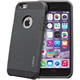 """Juppa® Tough Armour Sand Storm Dual Layer Case Cover for Apple iPhone 6 / 6s features Extreme Shock Resistance, Ultra Lightweight, Slim fit with Double Layer Protection (Iphone 6 6s 4.7"""", Black)"""